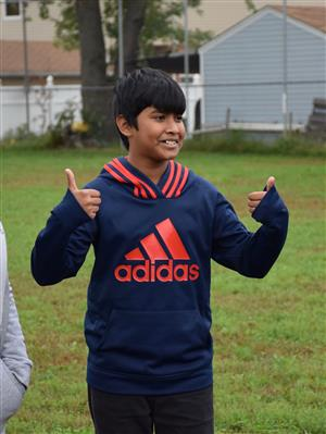 Gotham Avenue fifth-graders participate in teambuilding